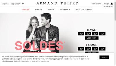 Site internet de Armand Thiery SAS