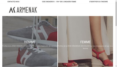 Site internet de Armenak