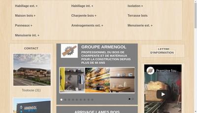 Site internet de Societe Armengol