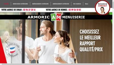 Site internet de Armoric Menuiserie