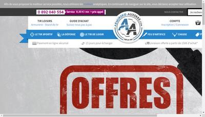 Site internet de SARL Armurerie Tir Loisirs