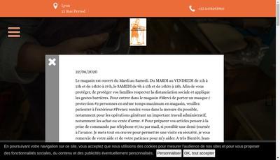 Site internet de Armurerie de la Croix Rousse