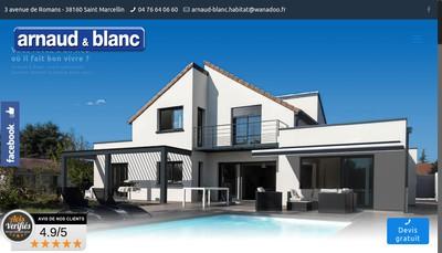 Site internet de Guillot et Blanc Confort Habitat