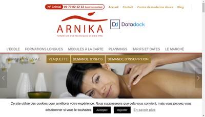 Site internet de Arnika