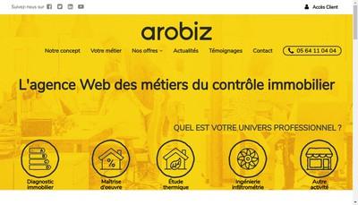 Site internet de Arobiz