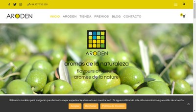 Site internet de Aroden