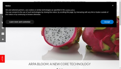 Site internet de Arpa Industriale