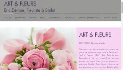Site internet de Art et Fleurs