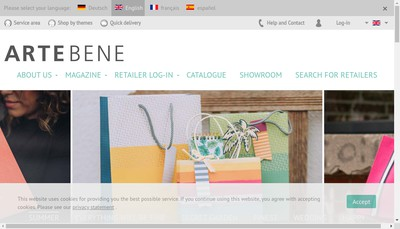 Site internet de Artebene