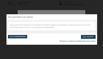 Site internet de Artech Pro