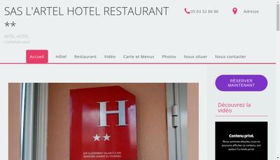 Site internet de L'Artel