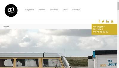 Site internet de Artenium