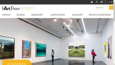 Site internet de Artfloor