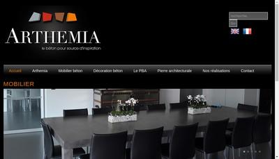 Site internet de Arthemia