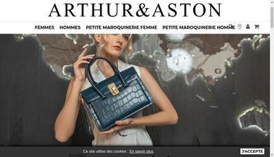 Site internet de Arthur Aston