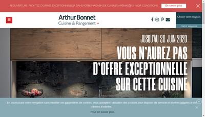 Site internet de Cuisines Design Industries