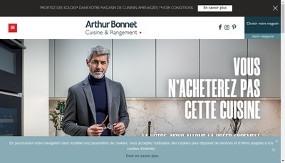 Site internet de Arthur Bonnet