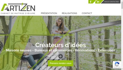 Site internet de Arti'Zen