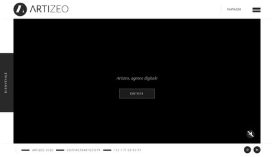 Site internet de Artizeo