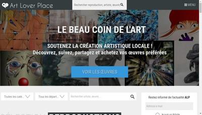 Site internet de Art Lover Place
