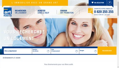 Site internet de SAS Art Promotion