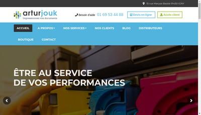 Site internet de Artur Jouk