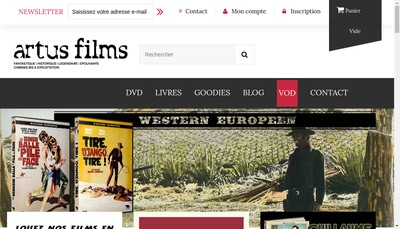 Site internet de Artus Films