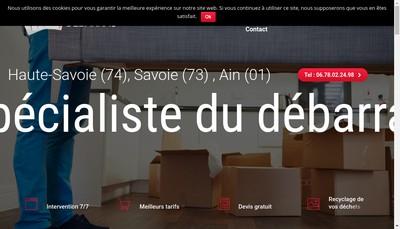 Site internet de L'As du Debarras