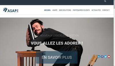 Site internet de Asape