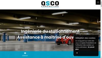 Site internet de Asco Consulting