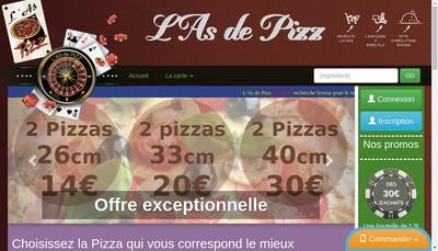 Site internet de L'As de Pizz