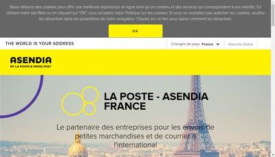 Site internet de Asendia Management