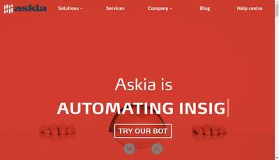 Site internet de Askia