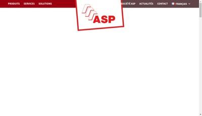 Site internet de Atelier Systemes de Protection