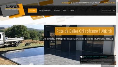 Site internet de As Pavages