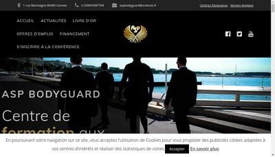 Site internet de Asp Training