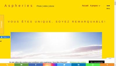 Site internet de Algodia