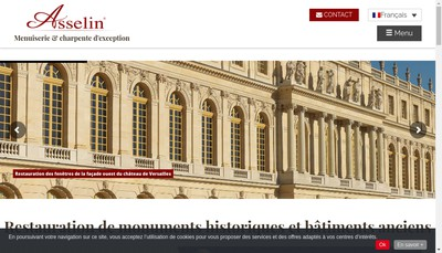 Site internet de Asselin