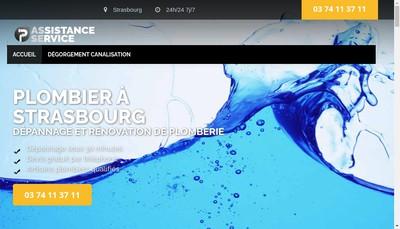 Site internet de Asse Plomberie