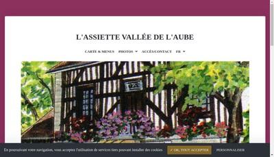 Site internet de Assiette Vallee de l'Aube