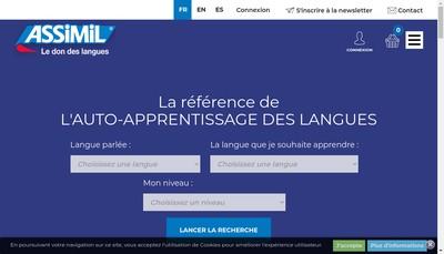 Site internet de Assimil SA