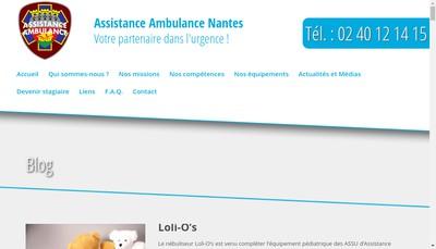 Site internet de Assistance Ambulance