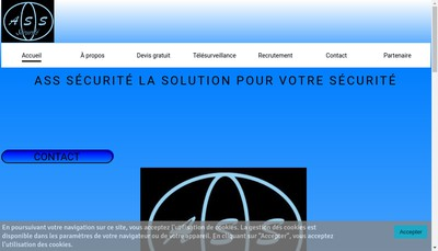Site internet de Answering Solutions Of Security