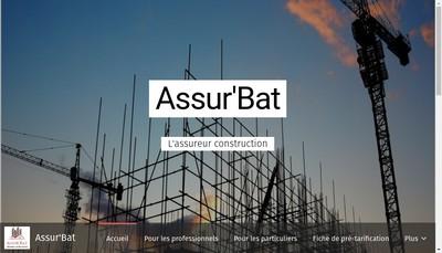 Site internet de SAS Assur'Bat