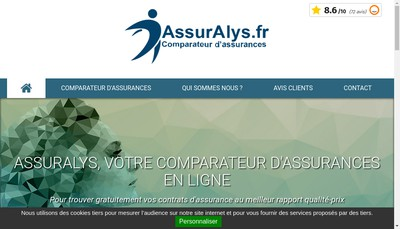 Site internet de Assuralys