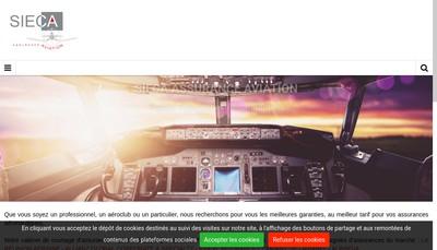 Site internet de Sieca - Protection du Patrimoine
