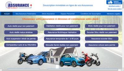 Site internet de Assurance en Direct
