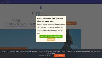 Site internet de Cabinet Roudon