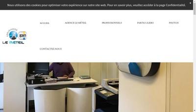 Site internet de Cabinet le Meteil