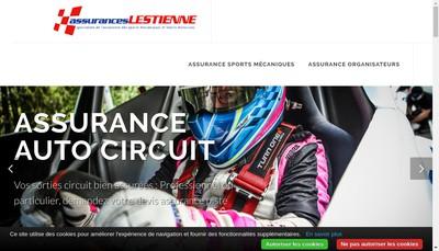 Site internet de Assurances Lestienne